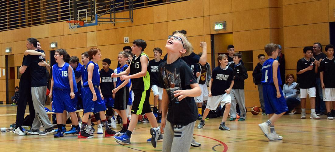 U14 Quali - Doppelt hält besser! Zwei Friedenauer Teams schaffen es in die Oberliga