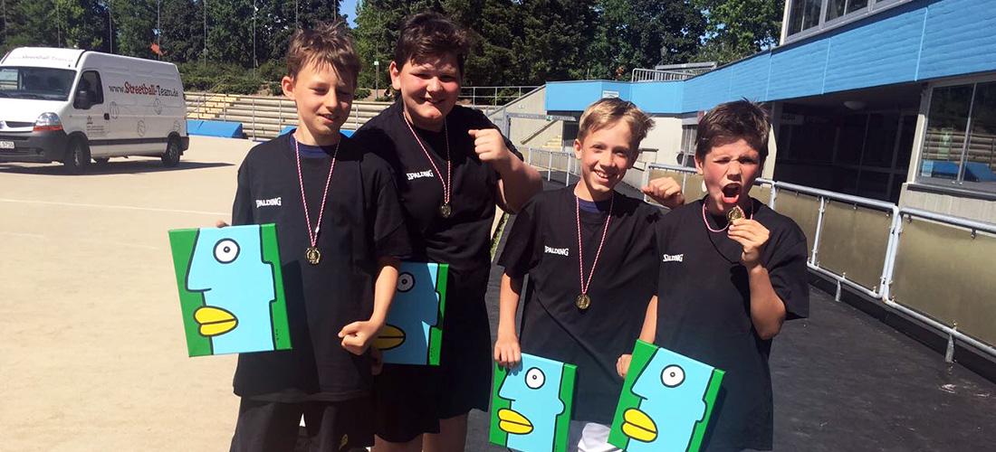 """School-Finals"" Streetball Champions aus Friedenau!"